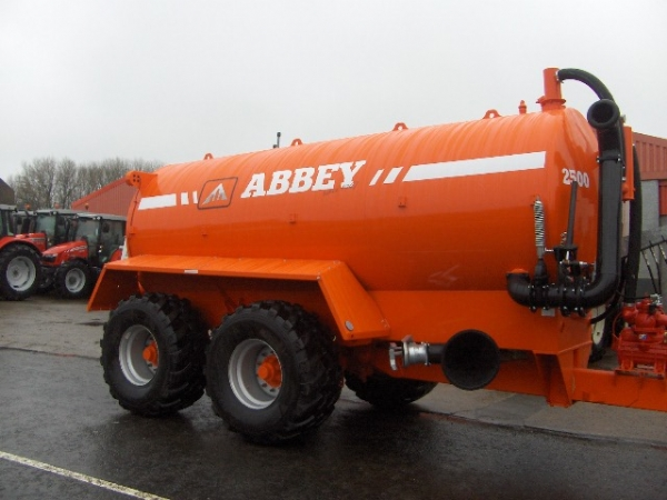 Abbey Slurry Tanker 2014