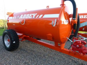 1100 Standard Slurry Tanker with 400 Wheels
