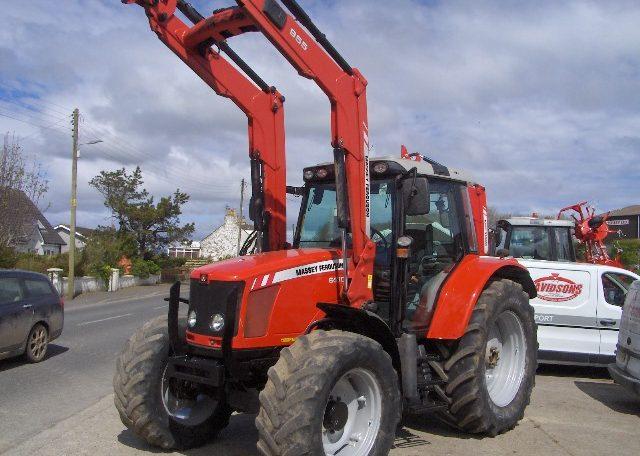 Massey Ferguson 6470 Mf 955 Loader Davidson Tractors