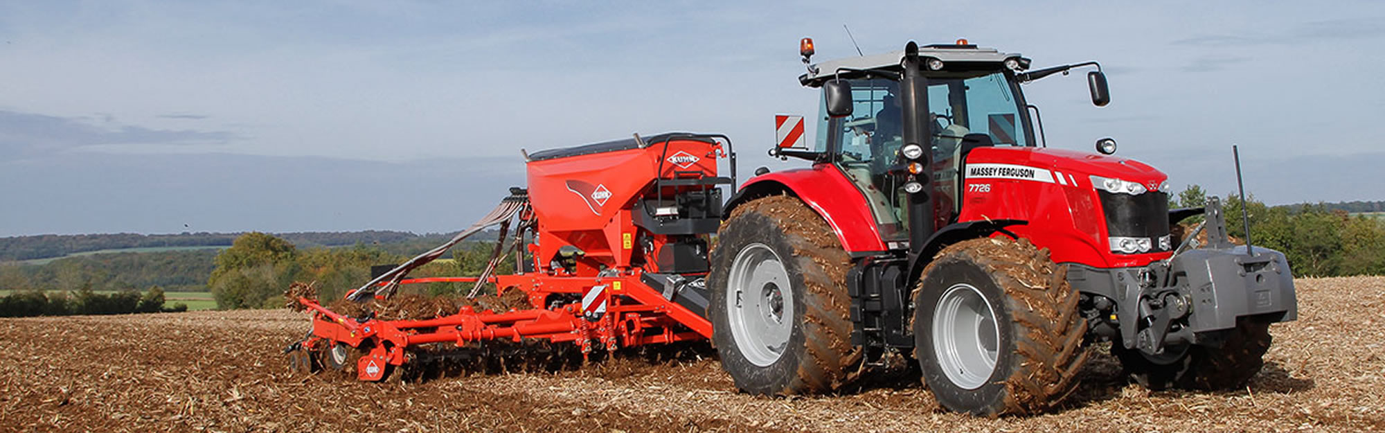 MF 7700 FREE Active Mechanical Suspension* FREE Multipad* * Dependent on Model Spec 5 Years / 3000 Warranty